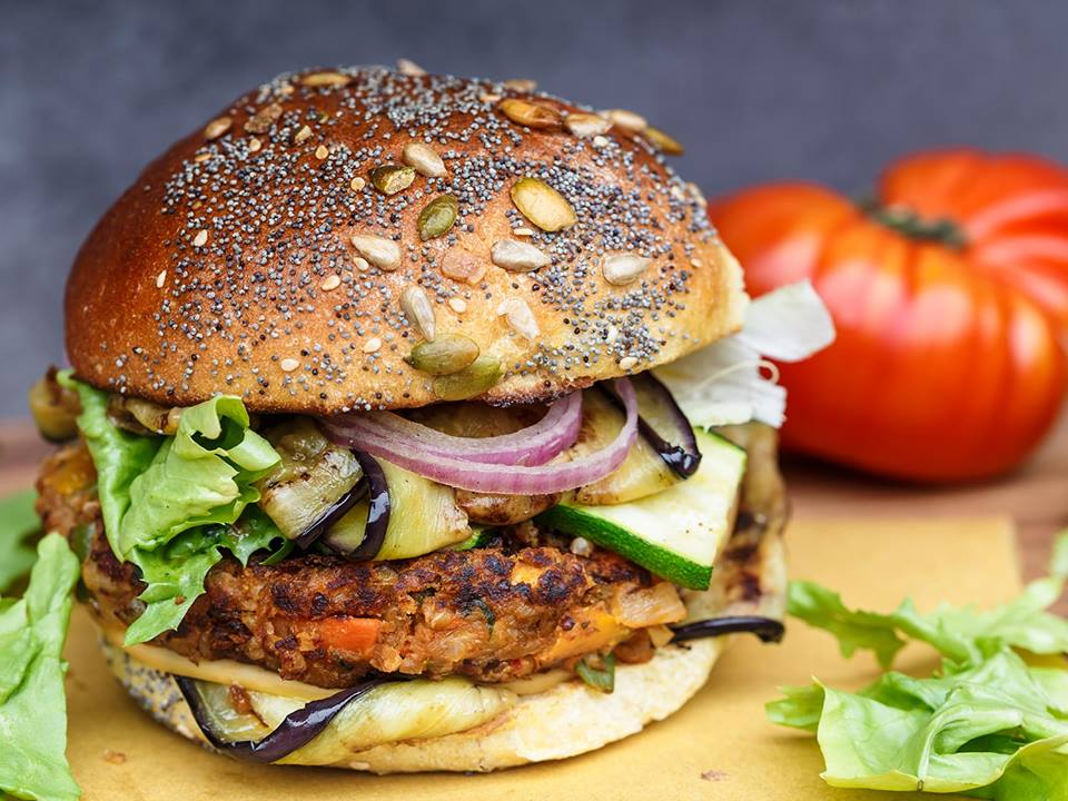 Hamburger Vegan